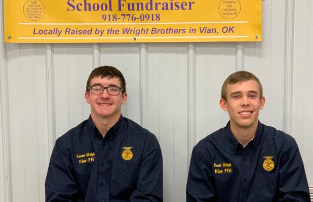 Brothers Create Beef Business to Provide School Fundraiser