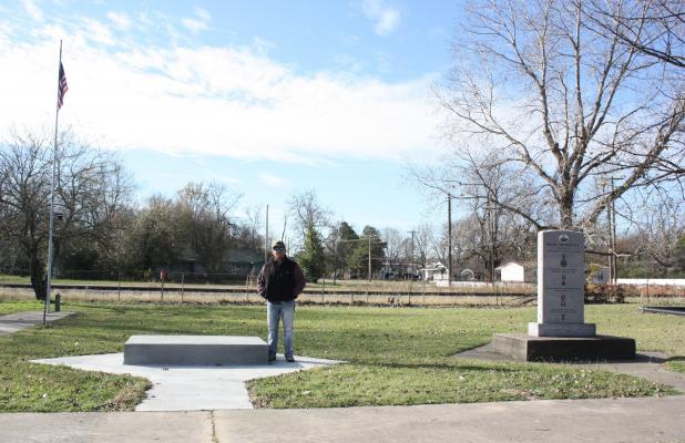 Monument built in Bynum's honor to be placed in park