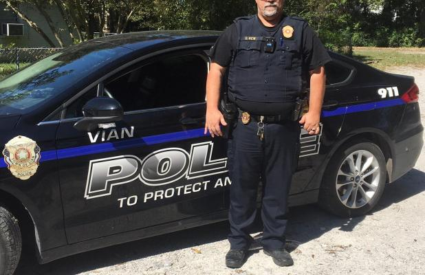 New is named Vian Police Chief